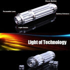 New Style Powerful Red Laser Pointer Pen 532nm Visible Beam Light & star cap USA