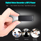 MP3 8GB Spy Recording Device Spy Voice Activated Recorder Mini Microphone Audio