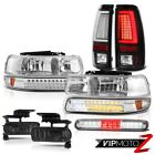 99-02 Silverado 6.0L Tail Brake Lamps Roof Lamp Headlamps Fog Lights Neon Tube