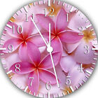Beautiful Flowers Frameless Borderless Wall Clock For Gifts or Home Decor E115