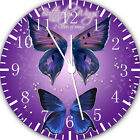 Beautiful Butterfly Frameless Borderless Wall Clock For Gifts or Home Decor E124