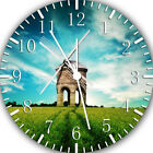 Windmill Frameless Borderless Wall Clock For Gifts or Home Decor E129