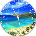 Hawaiian Beaches Frameless Borderless Wall Clock For Gifts or Home Decor E145