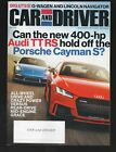 CAR & DRIVER March 2018 G-Wagen Lincoln Nav Audi TTRS Porsche Cayman S Leaf SV
