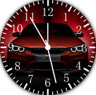 Red BMW Frameless Borderless Wall Clock For Gifts or Home Decor E265