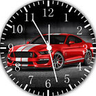 Mustang Frameless Borderless Wall Clock For Gifts or Home Decor E268