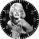 Marilyn Monroe Frameless Borderless Wall Clock For Gifts or Home Decor E336