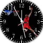 Basketball Slam Dunk Frameless Borderless Wall Clock For Gifts or Decor E368