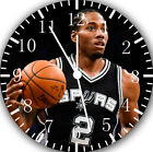 Kawhi Leonard Frameless Borderless Wall Clock For Gifts or Home Decor E389