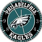 Philadelphia Eagles Frameless Borderless Wall Clock For Gifts or Home Decor E437