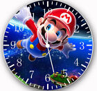 Super Mario Frameless Borderless Wall Clock For Gifts or Home Decor W04