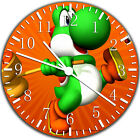 Yoshi Super Mario Frameless Borderless Wall Clock For Gifts or Home Decor W11