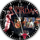 Michael Jordan Frameless Borderless Wall Clock For Gifts or Home Decor W28