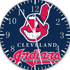 Cleveland Frameless Borderless Wall Clock Nice For Gifts or Decor E252