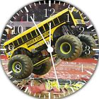 School Bus Frameless Borderless Wall Clock Nice For Gifts or Decor E255