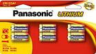 Panasonic 1550 mAh 3V Lithium General Purpose Battery CR-123PA/6B