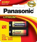 Panasonic 2CR5 1400mAh 6V Lithium Battery 2CR-5MPA/1B