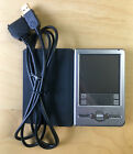 Sony Clie CSK-002/U PDA w/ USB Charge/Sync Cable & Case *Tested & Working*