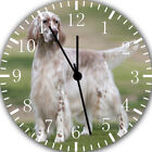 English Setter Frameless Borderless Wall Clock Nice For Gifts or Decor F69