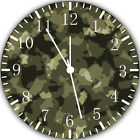 Military Camouflage Frameless Borderless Wall Clock Nice For Gifts or Decor W269