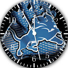 Detroit Lions Frameless Borderless Wall Clock Nice For Gifts or Decor F93