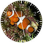 Tropical Ocean Fish Frameless Borderless Wall Clock Nice For Gifts or Decor W221