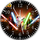 Lego Star Wars Movie Frameless Borderless Wall Clock Nice For Gifts or Decor X28