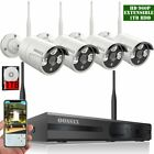 OOSSXX 8-Channel HD 1080P Wireless Network/IP Security Camera System(IP Wireless