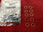 NOS 65 66 67 68 69 70 MUSTANG SHELBY 8 9 INCH REAR CENTER SECTION COPPER WASHERS