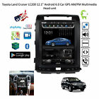 "12.1"" Android 6.0 Car GPS AM/FM Multimedia Head-unit Toyota Land Cruiser LC 200"