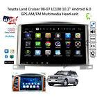 "10.2"" Android 6.0 GPS AM/FM Multimedia Head-unit Toyota Land Cruiser 98-07 LC100"
