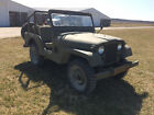 1955 Willys 439  1955 M38 Willys Army Jeep