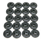 Fast-Trac Round XL Black Air Lite Backer Plates for 5/16 in. Studs - 600RX-24