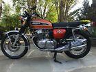 1974 Honda CB  HONDA 1974 CB750 SUNRISE ORANGE CB 750 AS NEW SUPER MINT RESTORED