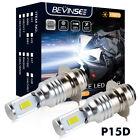 100W For Yamaha Bear Tracker YFM250X 1999-2004 YFM250B 99-02 LED Headlight Bulbs