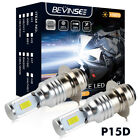 100W For Yamaha Big Bear 400 2000-2012 LED Headlight Bulbs Kit YFM400 YFM400F