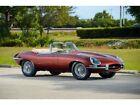E-Type -- 1966 Jaguar E-Type  39000 Miles Opalescent Maroon  Inline 6 Manual