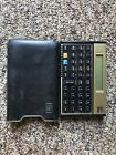 VINTAGE Financial Calculator Hewlett Packard 12C with leather case