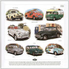MORRIS MINOR - FINE ART PRINT - Pick-Up Tourer Fire Rally Series MM Traveller II