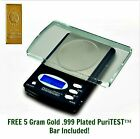 Deluxe Digital Lab Scale 1000 gram x 0.1g - Weigh Troy, Ounce, Pennyweight, and