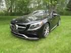 2015 Mercedes-Benz S-Class S63 AMG coupe Biturbo 2015 MERCEDES-BENZ S-CLASS S63 AMG 17k miles