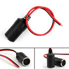 8x Car Charger Power Cigarette Lighter Plug Female Cable 18AWG 2x0.75mm² USA