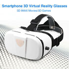 """3D VR BOX Adjustable 3D Movies Video Glasses Games Headset for 4-6.0"""" Smartphone"""
