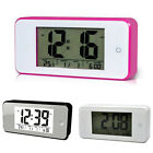 Smart Alarm Clock with Large LCD screen Low Light Sensor Repeating Snooze