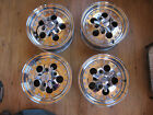4 Cragar SS wheels chrome w/center caps 14x6 1988-1990 uni-lug