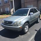 1999 Lexus RX  1999 LEXUS RX 300 SILVER SUNROOF New Battery/Tires Service Records Clear Title