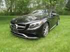 Mercedes-Benz S-Class S63 AMG coupe Biturbo 2015 MERCEDES-BENZ S-CLASS S63 AMG 17k miles