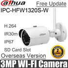 Dahua 3MP wifi IP Camera IPC-HFW2325S-W waterproof 50m ir SD Card slot wireless