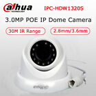 Dahua IPC-HDW1320S 3MP Dome IP Camera 2.8mm PoE IP67 IR HD P2P DWDR H.264+