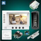 """HOMSECUR 7"""" Wired Video Door Phone Intercom System with Outdoor Monitoring 1C1M"""